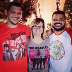 Felipe, eu e Rafa